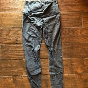 Lululemon Gray Wunder Under High Rise Pant